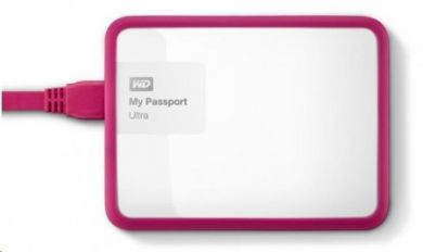 WD My Passport 1TB Grip Picasso Fuchsia