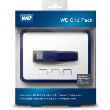 WD My Passport 2TB Grip Picasso Slate