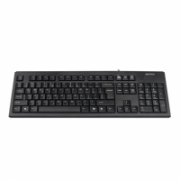 A4Tech ComfortKey Keyboard  KR-83 Standard, Wired, USB, Black, No, Wireless connection No, US+Russian, Numeric keypad, 510 g  8,00