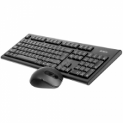 A4tech Keyboard and mouse set 7100N multimedia, wireless, EN, black A4Tech Keyboard and Mouse set 7100N Multimedia, wireless, Keyboard layout EN  24,00