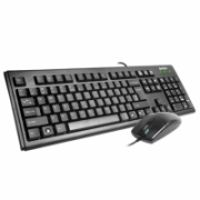 A4Tech Keyboard and Mouse set KM-720 +OP-620D Multimedia, wired, Keyboard layout EN/RU  10,00