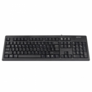 A4Tech Keyboard KR-83 standard, wired, Keyboard layout EN, USB, black  11,00