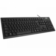 A4Tech keyboard KR-83, USB, black EN/LT layout A4Tech Keyboard KR-83, ComfortKey Rounded Edge Keycaps wired, USB, Keyboard layout EN/LT, black  10,00