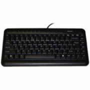 A4Tech Multimedia keyboard Russian layout, USB, black colour A4Tech  14,00