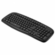 Acme KM10 Wired keyboard, USB, Keyboard layout EN/LT/RU, Black, 610 g, USB,  11,00
