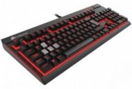 Žaidimų klaviatūra Corsair Strafe, Cherry MX Red, Fully backlit, Mechanical, EU  133,00