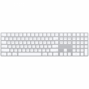 Apple Magic Keyboard with Numeric Keypad Wireless, Keyboard layout English  141,00
