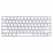 Apple MLA22 Standard, Wireless, Keyboard layout EN, Silver, White, English, 231 g  109,00