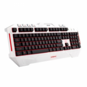Asus CERBERUS ARCTIC keyboard 90YH00V1-B2UA00 Wired, Wired, Keyboard layout US, EN, Multi-color fully backlighting, Wireless connection No, Numeric keypad, 1100 g, White  42,00