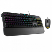 Asus TUF Gaming K5 Keyboard and M5 Mouse Combo, Gaming set (Keyboard and mouse), RGB LED light, Wired  107,00