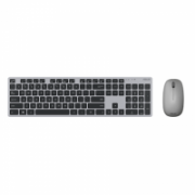 Asus W5000 Keyboard and Mouse Set, Wireless, Keyboard layout Russian, Grey, Wireless connection Mouse: USB, Mouse included, 460 g  31,00