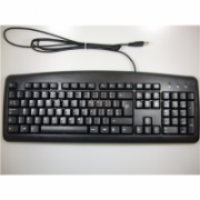 Chicony standard keyboard KU-0325, US/LT, USB, Black Chicony Standard, Wired, Keyboard layout EN/LT, USB 2.0  10,00