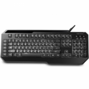Cooler Master Gaming+Membrane, Wired, Keyboard layout EN/RU, Black, USB, removable cable  40,00