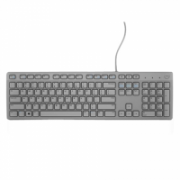 Dell KB216 Multimedia, Wired, Keyboard layout EN, Grey, English, Numeric keypad  14,00