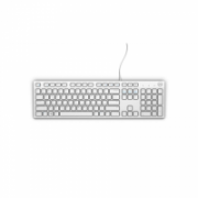 Dell KB216 Multimedia, Wired, Keyboard layout EN, USB, White, English,  12,00