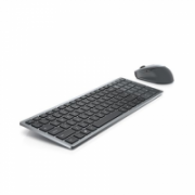 Dell Keyboard and Mouse KM7120W Wireless, 2.4 GHz, Bluetooth 5.0, Keyboard layout Russian, Titan Gray  78,00