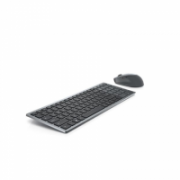 Dell Keyboard and Mouse KM7120W Wireless, 2.4 GHz, Bluetooth 5.0, Keyboard layout Nordic, Titan Gray  74,00