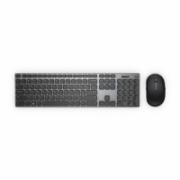 Dell Keyboard and mouse KM717  Premier, Wireless, Keyboard layout Russian, USB, Bluetooth, Black, Wireless connection Yes, Mouse included, Russian, Numeric keypad  89,90