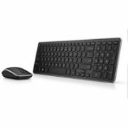 Dell Keyboard and mouse set  KM714 Wireless, USB, Keyboard layout Nordic, No, Mouse included, Numeric keypad, Nordic, Black, Wireless connection  49,00