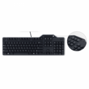 Dell Keyboard Russian (QWERTY) Dell KB-813 Smartcard Reader USB Keyboard Black Kit Dell Standard, Wired, EN  31,00