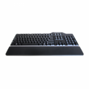 Dell Keyboard US/EU/LT(QWERTY) Dell KB-813 Smartcard Reader USB Keyboard Black Kit Dell  26,00