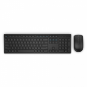Dell KM636 Standard, Wireless, Keyboard layout EN/RU, Black, Mouse included, Russian, Numeric keypad  31,00