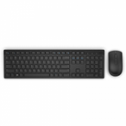 Dell KM636 Standart, Wireless, Keyboard layout US, Mouse included, US International, Numeric keypad, Black  30,00