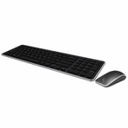Dell KM714 Standard, Wireless, Keyboard layout EN, Black, Mouse included, English  64,00