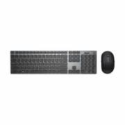 Dell KM717 Standard, Wireless, Keyboard layout EN, Bluetooth, Mouse included, Grey, English, Numeric keypad  81,00
