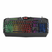 FURY Spitfire Gaming Keyboard, US Layout, Wired, Black  21,00