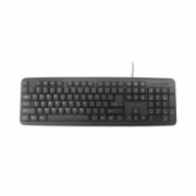 Gembird KB-U-103-RU Standard, Wired, Keyboard layout EN/RU, 1.4 m, Black, 424 g  7,00