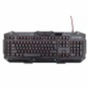 Gembird KB-UMGL-01 Programmable gaming keyboard Black  18,00