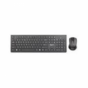 Gembird KBS-WCH-01 Wireless, Black, Mouse included, US English, Numeric keypad, 522 g  17,00