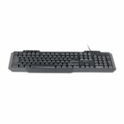 Gembird Multimedia keyboard KB-UM-105  Wired, Wired, Keyboard layout US, No, 625 g, EN, Numeric keypad, USB, Black  9,00