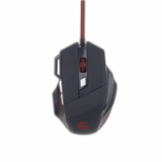 Gembird MUSG-02 7-button  Programmable gaming mouse, No, Wired, Black, No,  18,00