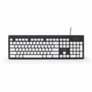 "Gembird ""Chocolate"" Keyboard KB-CH-01 UBS Keyboard, Wired, Keyboard layout US, Black  15,00"