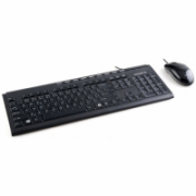 Gigabyte Multimedia Keyboard and Mouse set multimedia, wired, EN, USB  15,00