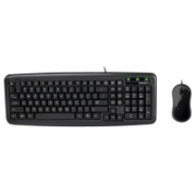 Gigabyte USB Keyboard and Mouse set Standard, Wired, Keyboard layout EN, 1.5 m, black, 500 g  15,00