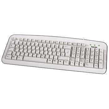 HAMA BASIC KEYBOARD K210 WHITE EN/LT/RU