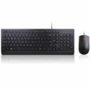 Lenovo Essential Keyboard and Mouse Combo  4X30L79922 Wired, USB, Keyboard layout US with EURO symbol, USB, Black, No, Mouse included, ENG, Numeric keypad  31,00