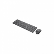 Lenovo Professional Ultraslim Wireless Combo Keyboard and Mouse- Nordic 4X30T25803 Keyboard and mouse, Wireless, Keyboard layout Nordic, Wireless connection Yes, Mouse included, Grey, No, EN, Numeric keypad  94,00