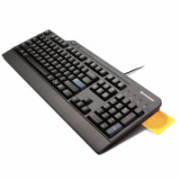 LENOVO USB Smartcard Keyboard - US English with Euro symbol Lenovo Standard, Wired, Keyboard layout EN  50,00