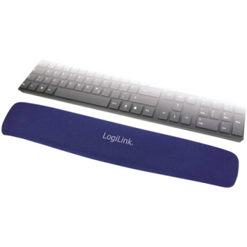 Logilink ID0045 Gel keyboard pad, Blue