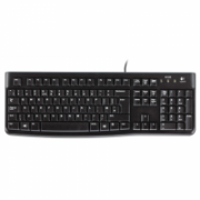 Logitech K120 Multimedia, Keyboard layout EN/RU, USB Port, 1.5 m, Black, Russian, Numeric keypad, 550 g  16,00