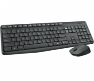 Logitech MK235 Wireless Keyboard and Mouse Combo, GREY, US  30,00