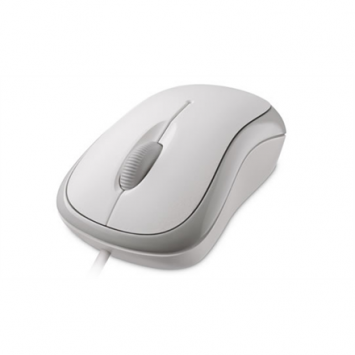 Microsoft 4YH-00008 Basic Optical Mouse for Business USB, White, 1.83 m