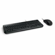 Microsoft APB-00011 Wired Desktop 600 Multimedia, Wired, Keyboard layout RU, Black, Mouse included  28,00