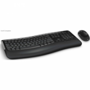 Microsoft Comfort Keyboard 5050 PP4-00019 Keyboard and mouse, Wireless, Keyboard layout EN, USB, Black, No, Wireless connection Yes, Mouse included, English, Numeric keypad, 829 g  63,00