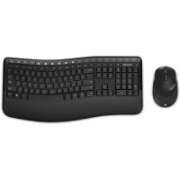 Microsoft Desktop 5050  Standard, Wireless, Keyboard layout RU, Wireless connection Yes, Mouse included, 829 g, Wireless, Black, Numeric keypad  62,00