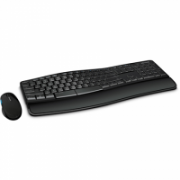 Microsoft Keyboard and mouse  Sculpt Comfort Desktop Standard, Wired, Keyboard layout RU, Mouse included, USB, Black, Numeric keypad  71,00